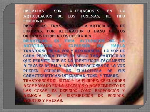 UTE TRASTORNOS DEL LENGUAJE Y LA COMUNICACIÓN Slide 3
