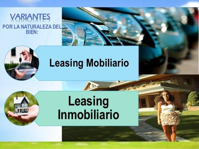 Diapositiva De Leasing Inmobiliario