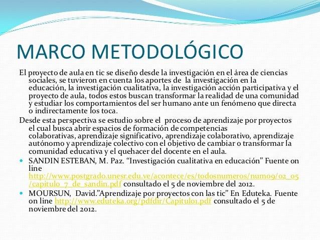 Diapositiva Marco Conceptual Metodologico