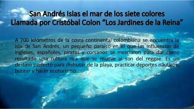 Turismo en San Andres Islas, Colombia