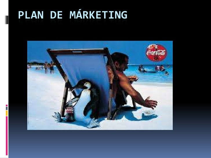 PLAN DE MÁRKETING<br />
