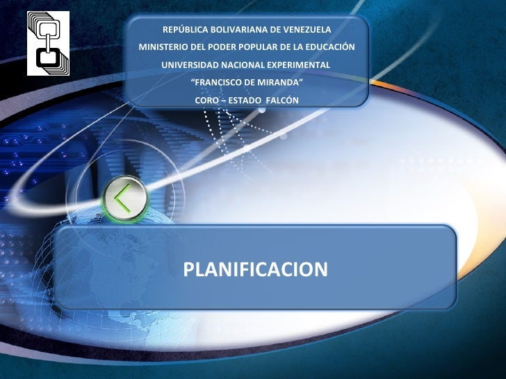 REPÚBLICA BOLIVARIANA DE VENEZUELAMINISTERIO DEL PODER POPULAR DE LA EDUCACIÓN    UNIVERSIDAD NACIONAL EXPERIMENTAL       ...