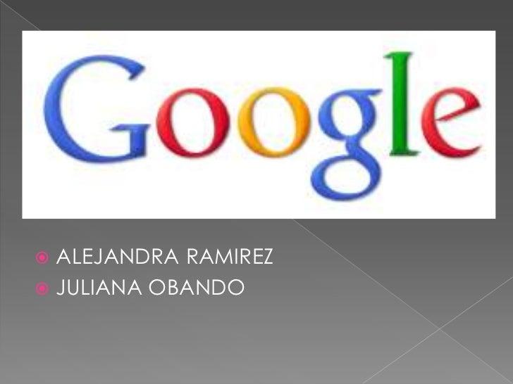 ALEJANDRA RAMIREZ<br />JULIANA OBANDO<br />
