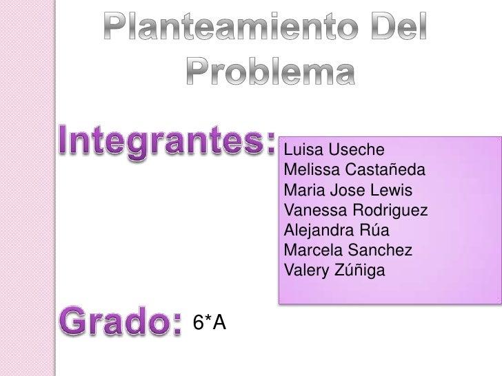 Luisa Useche      Melissa Castañeda      Maria Jose Lewis      Vanessa Rodriguez      Alejandra Rúa      Marcela Sanchez  ...