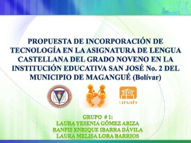 Autoridad Educativa: Institución PúblicaNombre del Establecimiento: Institución Educativa San José No. 2Dirección: Urbaniz...