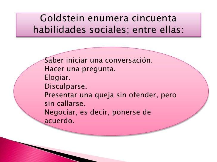 COMPONENTES DE LAS HABILIDADES            SOCIALES• COMPONENTES CONDUCTUALES    • Los componentes   • La mirada           ...