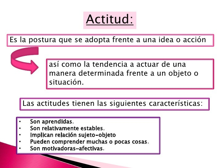 Las actitudes tienen una enorme importancia socialya que no son sólo cosa de un individuo, sino que son compartidaspor un ...