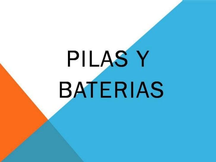 "BLIBLIOGRAFIAtexto•   Tomado de electrónica básica ""cekit""•   http://html.rincondelvago.com/baterias-y-pilas.htmlImagen•  ..."