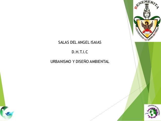 SALAS DEL ANGEL ISAIASD.H.T.I.CURBANISMO Y DISEÑO AMBIENTAL