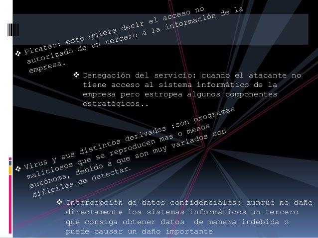 seguridad informatica en las empresas Slide 2