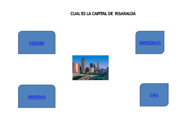 ARMENIA PEREIRA C ECONOMIA MANIZALES CALI