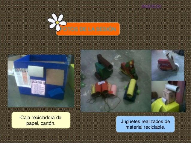 Sesion De Aprendizaje Reciclo Creo Y Juego 3 Anitos