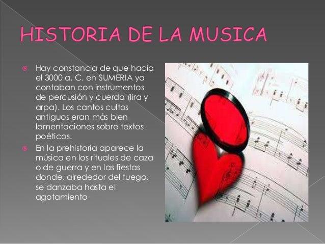LA MUSICA. Slide 3