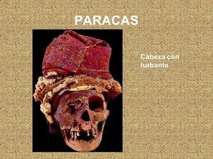 PARACAS Cabeza con turbante