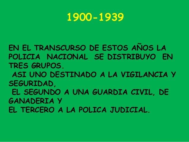 cuerpo nacional de polica policia nacional