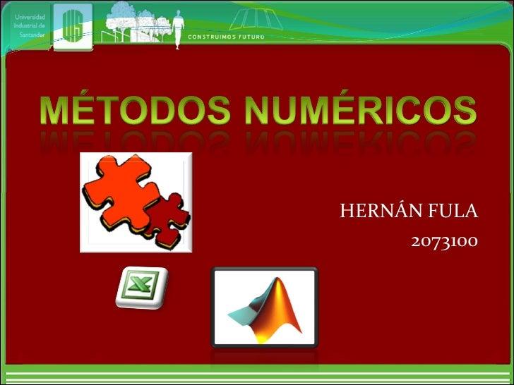 HERNÁN FULA      2073100