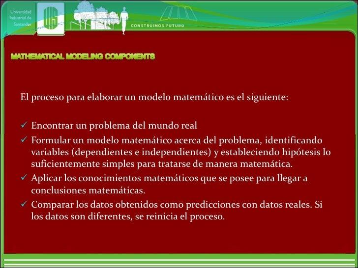 Componentes Modelo Matematico, Cifras Significativas, Exactitud y Presición, Aportes de las Series Slide 3