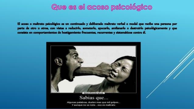 acoso psicologico en la mujer Slide 2