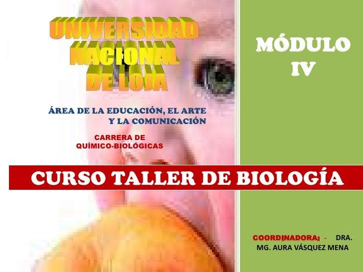 MÓDULO                                   IV ÁREA DE LA EDUCACIÓN, EL ARTE            Y LA COMUNICACIÓN          CARRERA DE...