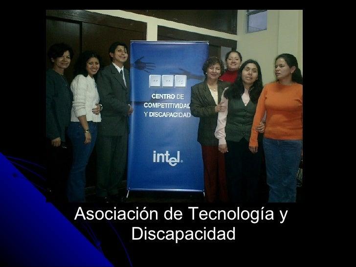 Asociación de Tecnología y  Discapacidad
