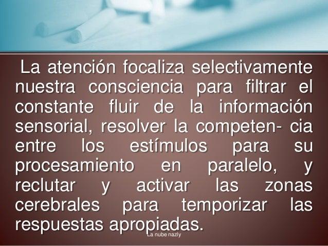 La atención- Psicología Slide 3