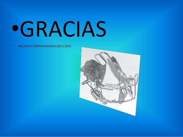 •GRACIAS •  MELISSA CORREA GAVIRIA O8111831