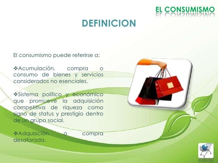 Consumismo for Definicion de gastronomia pdf