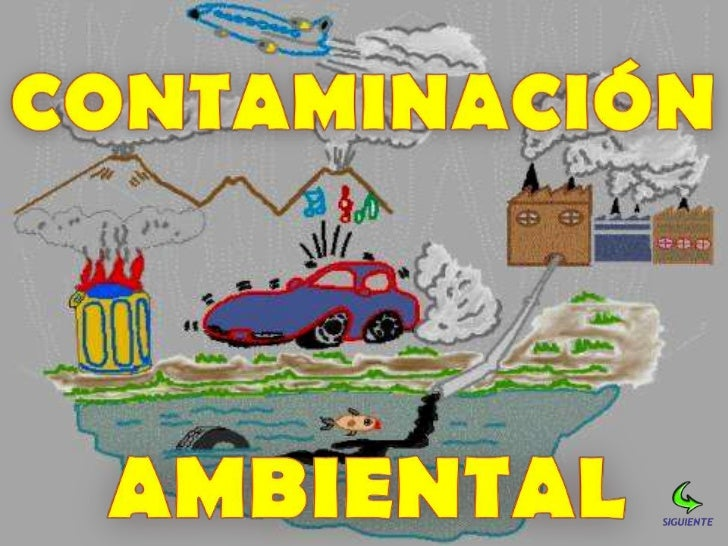  Es la acumulación en el medio ambiente de             sustancias extrañas y nocivas para la             subsistencia de ...