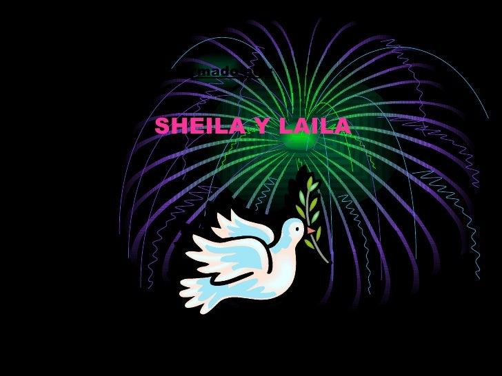 Mi grupo esta conformado por: SHEILA Y LAILA