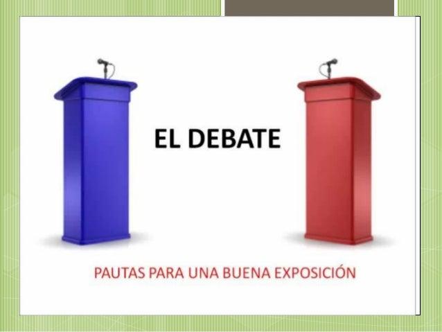 Diapositivas debate sofia