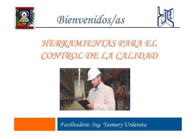 Facilitadora: Ing. Yasmary Urdaneta