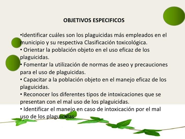 Diapositivas de diseno de proyeco 1 plauicidas 1 2 for Diseno de diapositivas