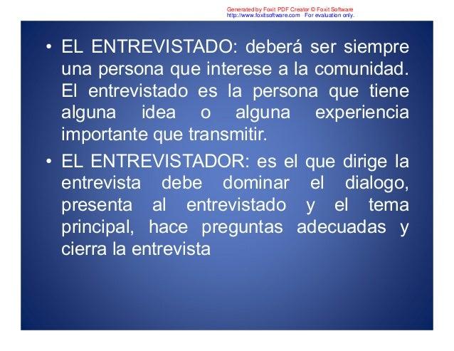 Diapositivas de entrevista Slide 3