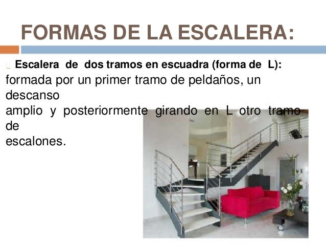 Escalones y escaleras for Escaleras de madera de dos tramos