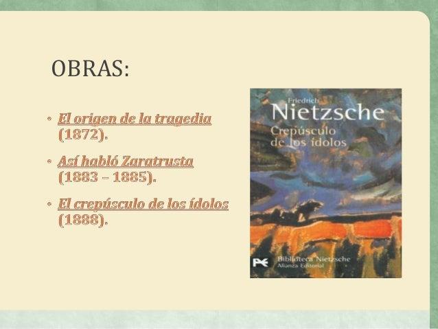 Diapositivas de friedrich wilhelm nietzsche Slide 3