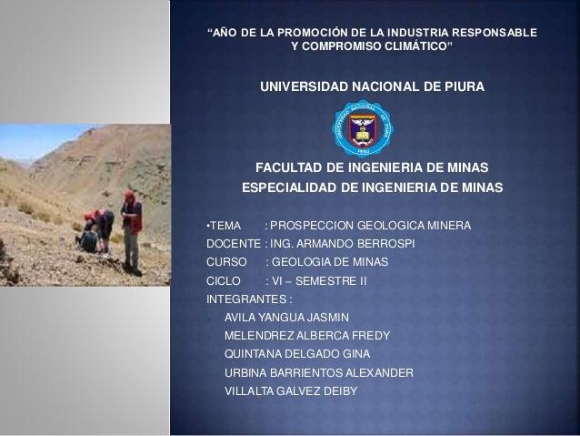 """""""AÑO DE LA PROMOCIÓN DE LA INDUSTRIA RESPONSABLE  Y COMPROMISO CLIMÁTICO""""  UNIVERSIDAD NACIONAL DE PIURA  FACULTAD DE INGE..."""