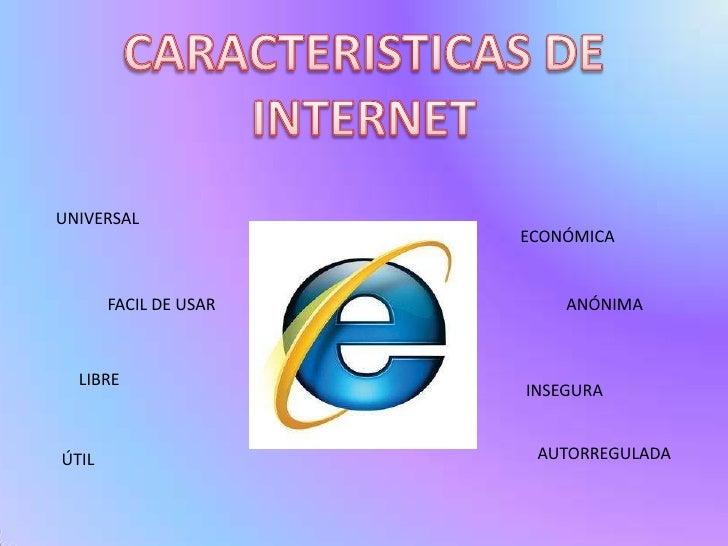 CARACTERISTICAS DEL INTERNET PDF DOWNLOAD