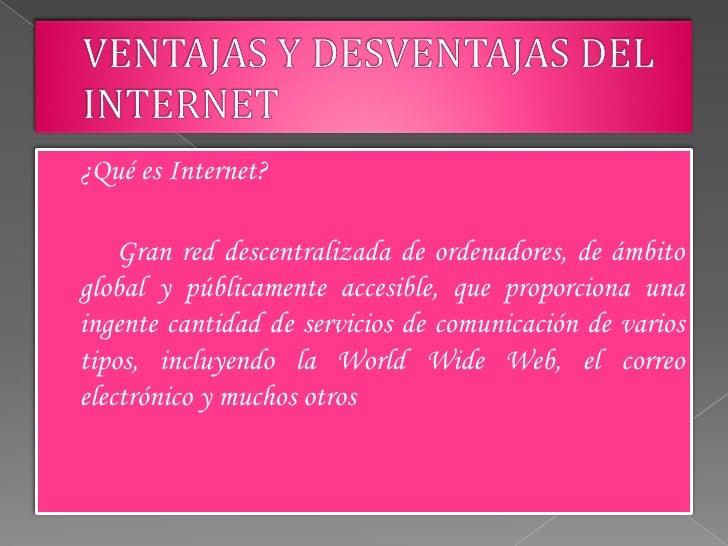Diapositivas de internet Slide 2