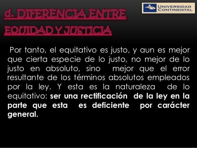 Diapositivas de la equidad