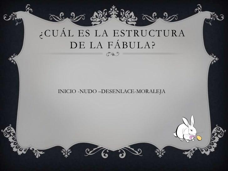 Diapositivas De La Fábula