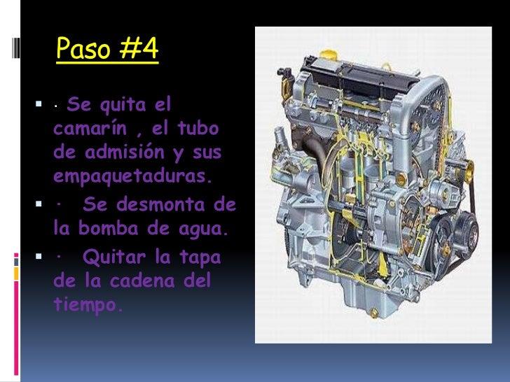 Diapositivas del desarme de un motor - Como se quitan las manchas de aceite ...