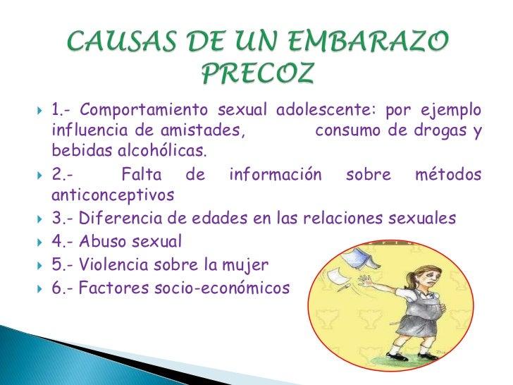 Diapositivas del embarazo precoz en adolescentes