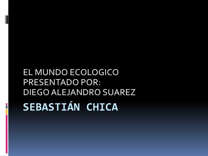 Sebastián chica<br />EL MUNDO ECOLOGICO<br />PRESENTADO POR:<br />DIEGO ALEJANDRO SUAREZ<br />