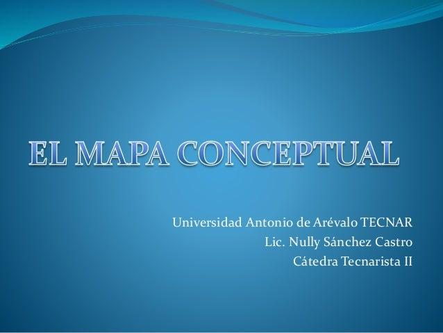 Universidad Antonio de Arévalo TECNAR Lic. Nully Sánchez Castro Cátedra Tecnarista II