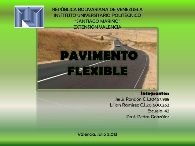 Pavimento Que Es : Diapositivas de pavimento flexible