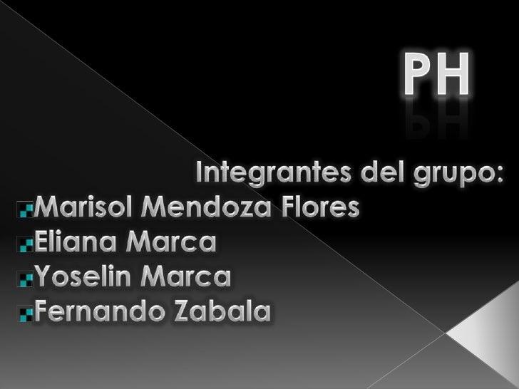 pH y pOH