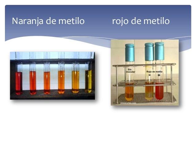 Naranja de metilo rojo de metilo
