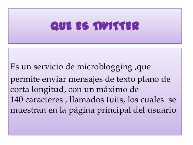 Diapositivas de twitter Slide 2