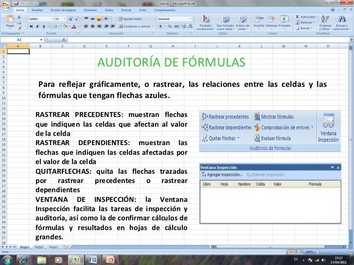 Diapositivas de excel 2007