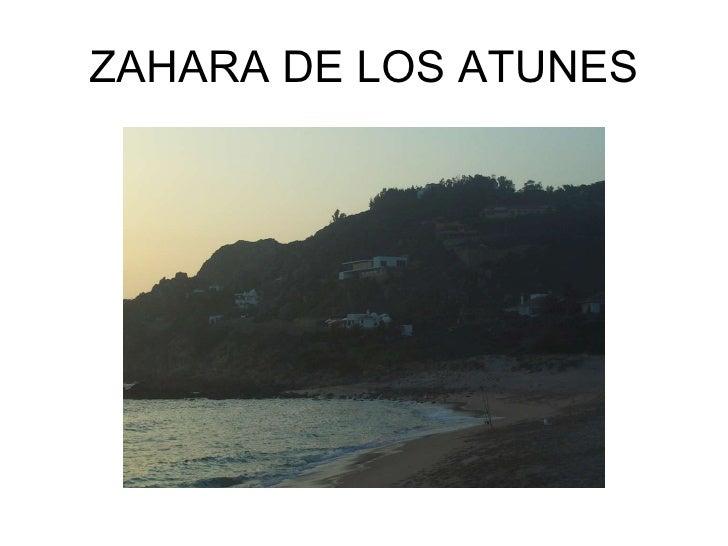 ZAHARA DE LOS ATUNES